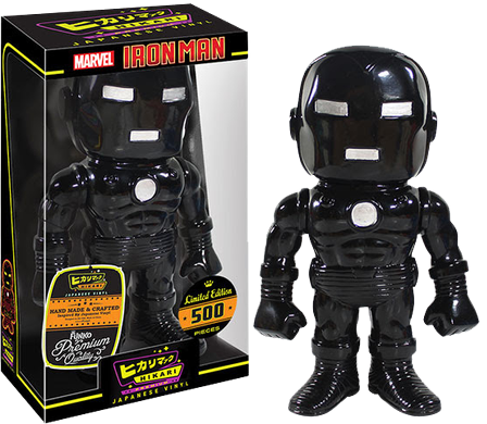 IRON MAN BLACK STEALTH HIKARI FUNKO VINLY COLLECTIBLE FIGURE
