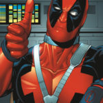 thumbs up deadpool wade wilson movie ryan reynolds poster