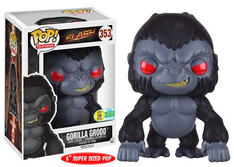 dc comics funko pop flash gorilla grodd
