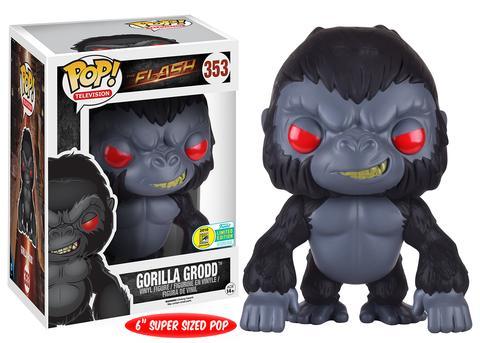 dc comics funko pop flash gorilla grodd