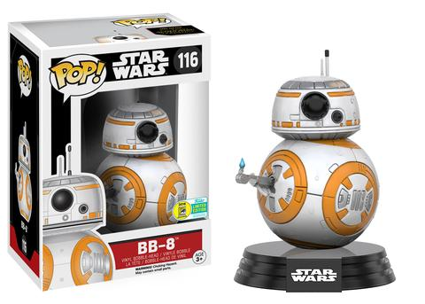 BB8 STAR WARS SDCC 2016 EXCLUSIVE FUNKO POP