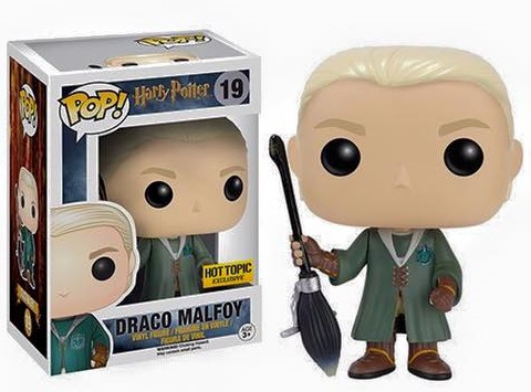 DRACO MALFOY QUIDDITCH FUNKO POP EXCLUSIVE HOT TOPIC HARRY POTTER