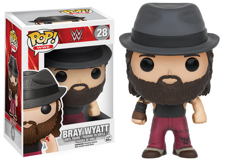 bray wyatt wwe wrestling funko pop vinyl figure smackdown raw