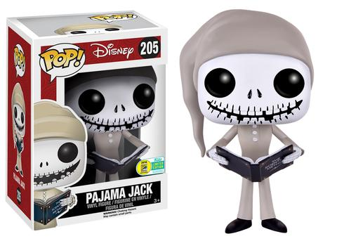 pajama jack jack skellington sally nightmare before christmas disney pop sdcc 2016