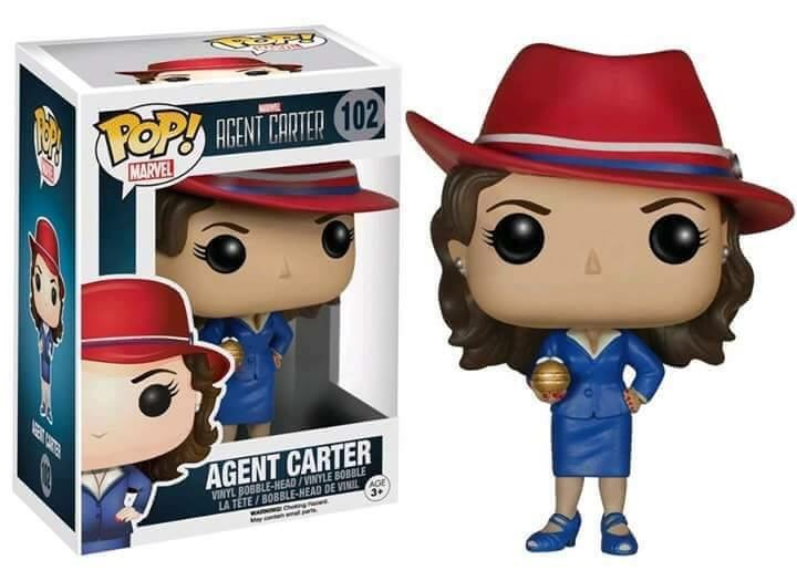 AGENT CARTER (W/ NITRAMENE BOMB) HOT TOPIC EXCLUSIVE #102