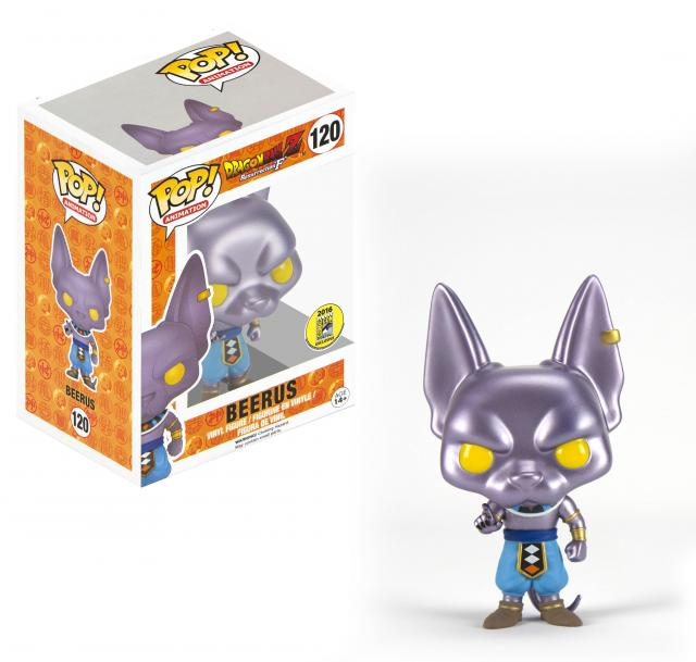 BEERUS (METALLIC) SDCC 2016 #120