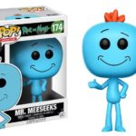 RICK AND MORTY MR MEESEEKS 174 POP FUNKO ANIMATION