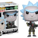 WEAPONIZED RICK RICK AND MORTY FUNKO POP ANIMATION CARTOON #172